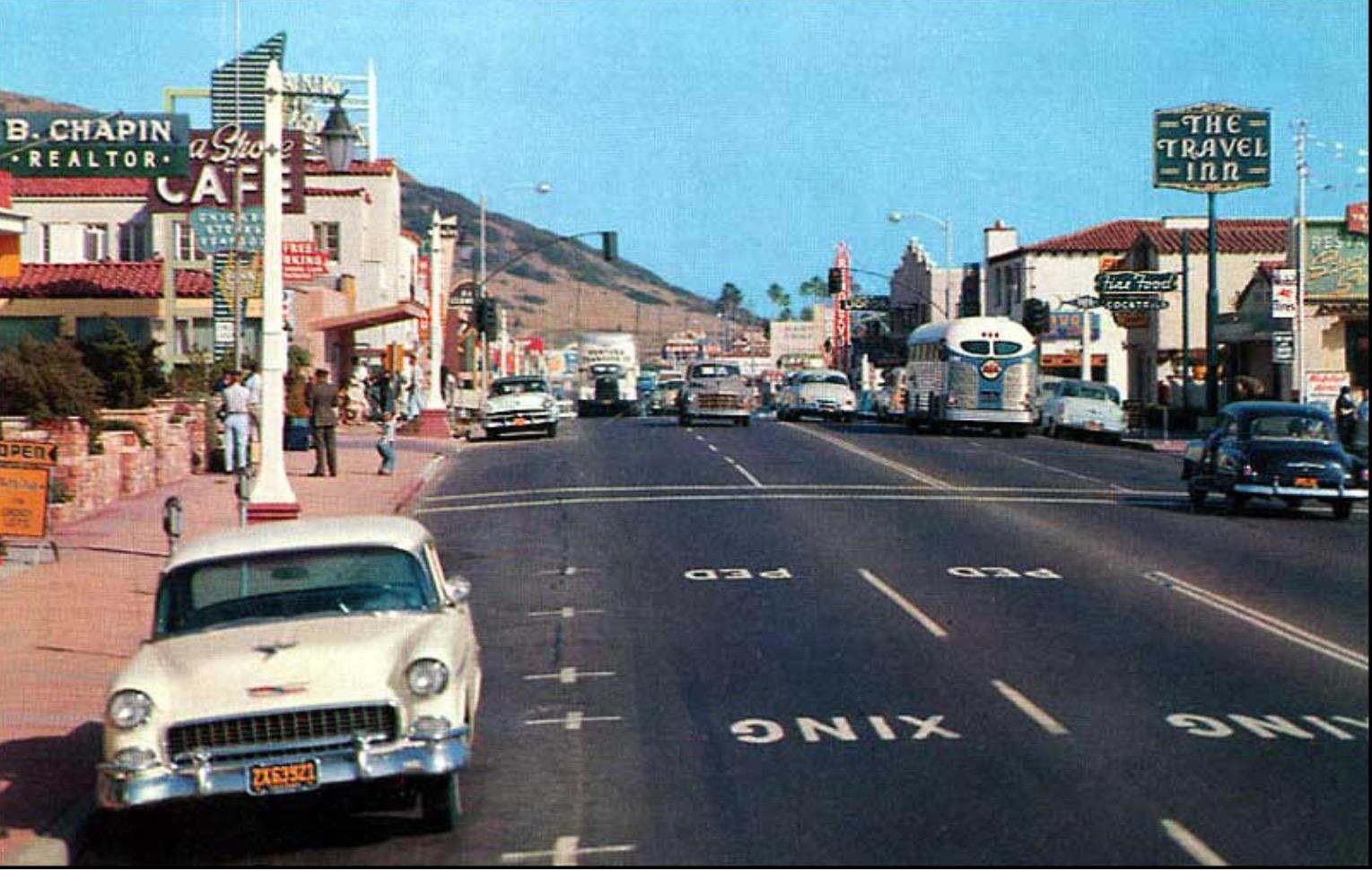 San Clemente (el Camino real) 1958