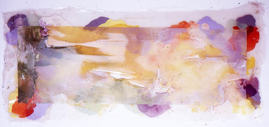 """Shiny (for J.W. Turner) 60"""" x 120"""", 1972"""