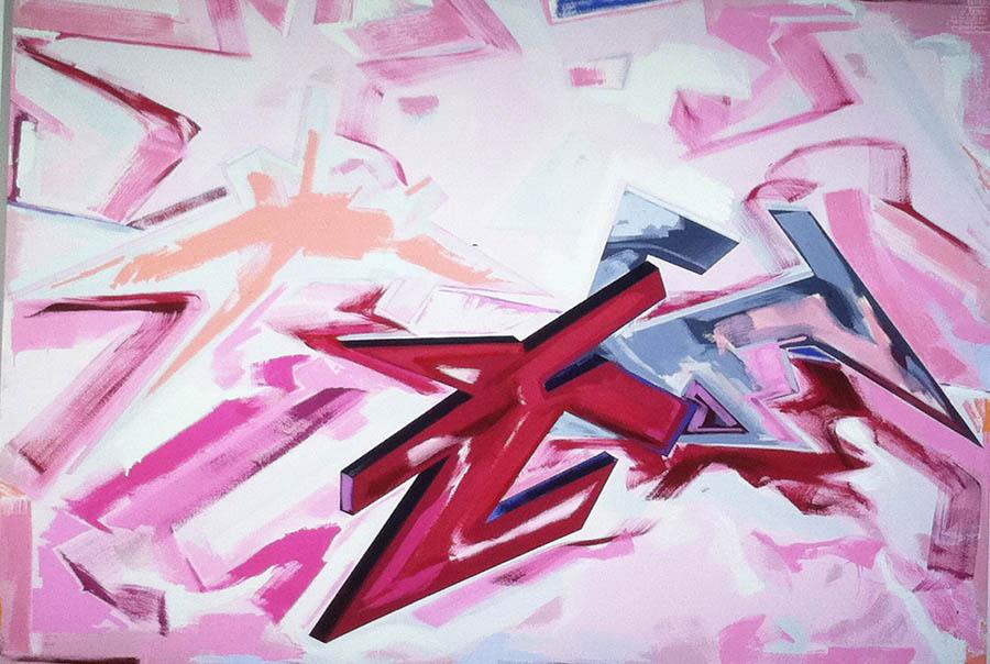 "Untitled, 84"" x 120"", 1979"