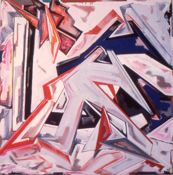"""Looks Are Decieving You Can Afford Us, 108"""" x 108"""", 1983"""