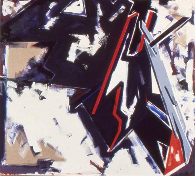 """The Last Kiss Goodnight, 108"""" x 120"""", 1979"""