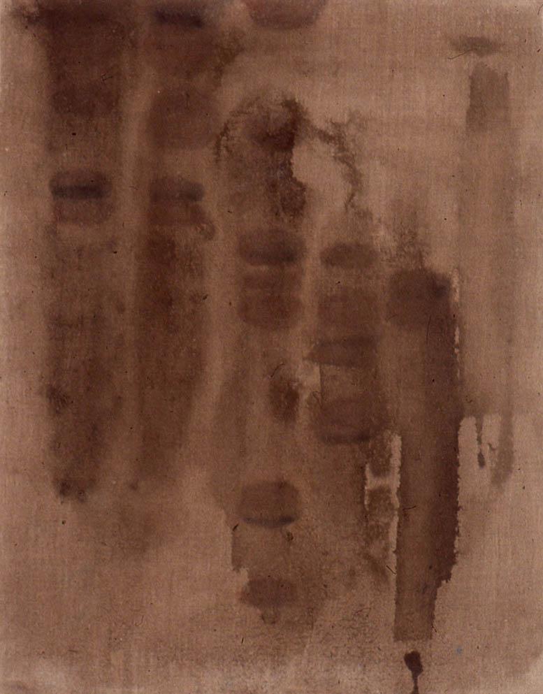 "Radioactive Mud, 18"" x 14"", 1996"