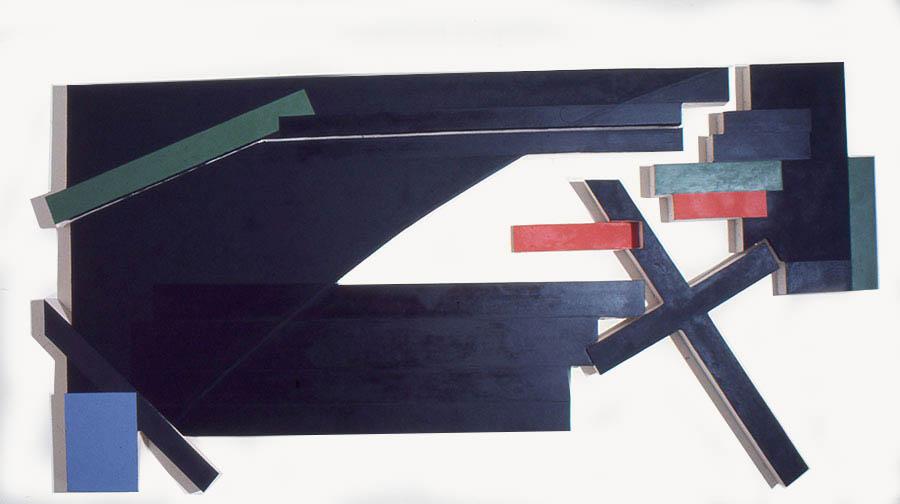 """Agitreklama II, 108"""" x 222"""", 1974"""