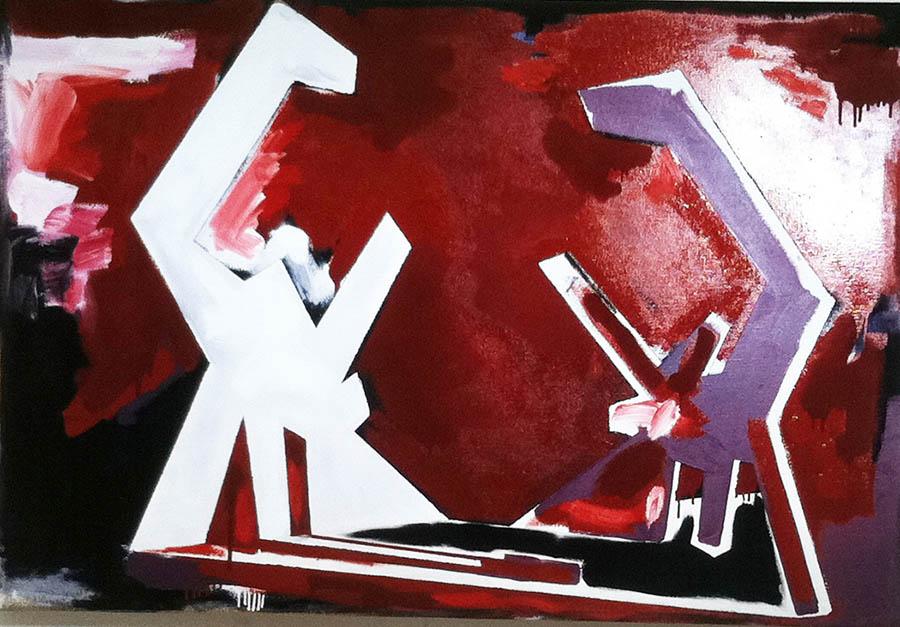 "Untitled 900, 48"" x 72"", 1978"