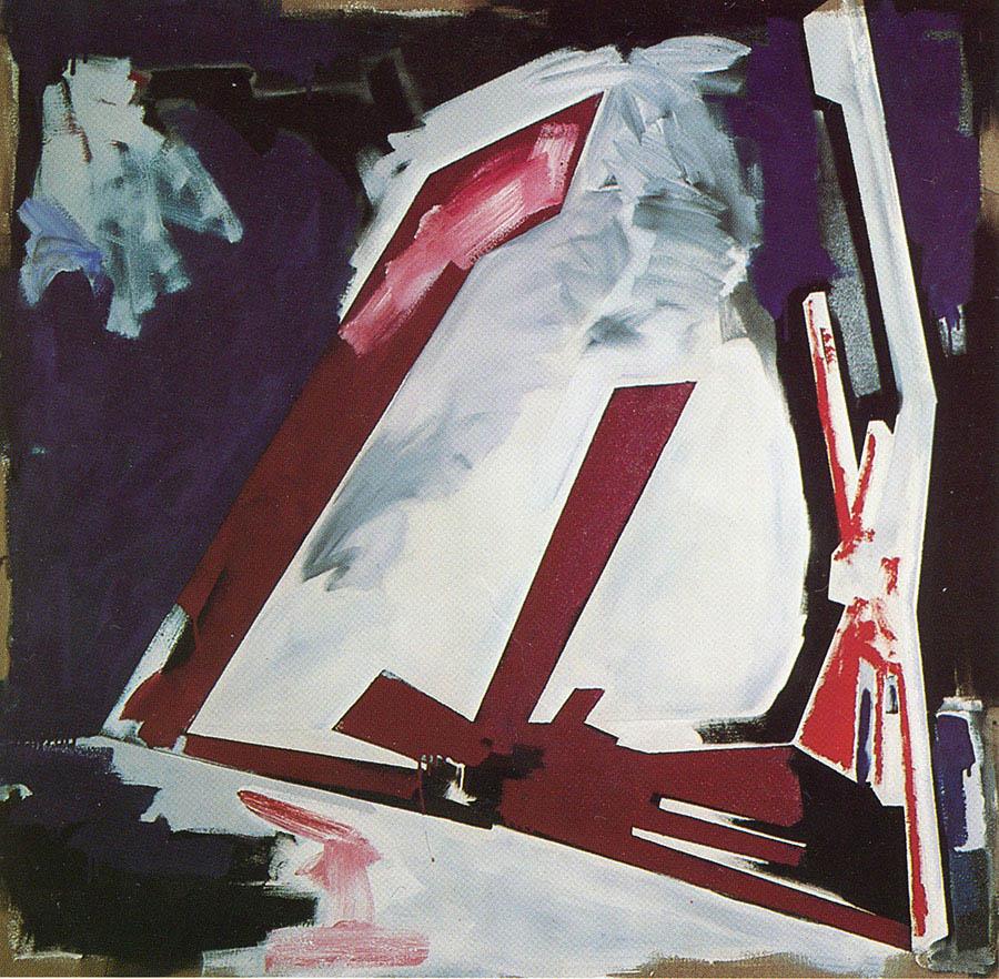 "Untitled, 72"" x 72"", 1978"