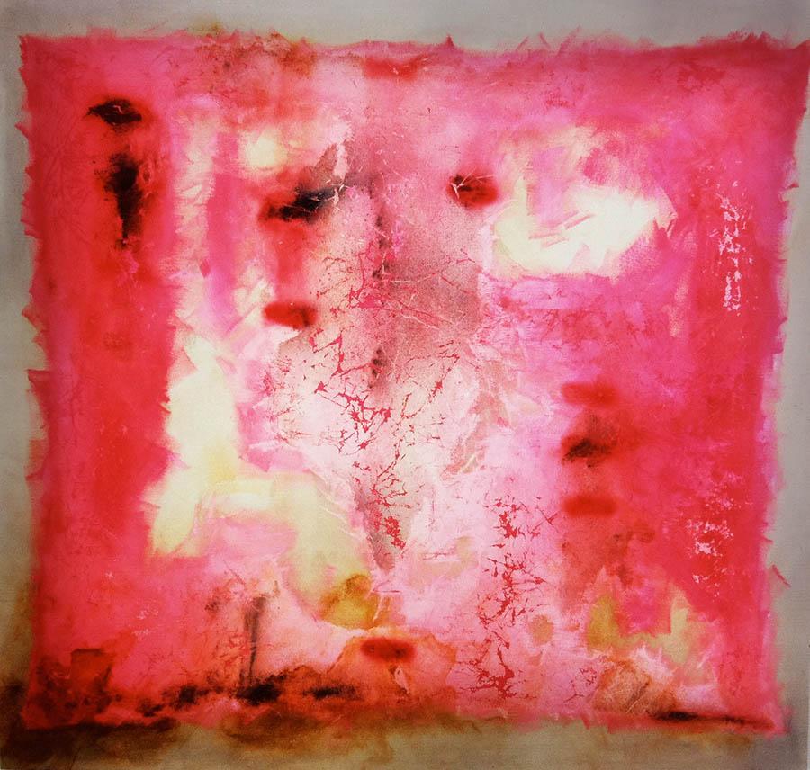 "Lily-P, 114"" x 120"", 1996"