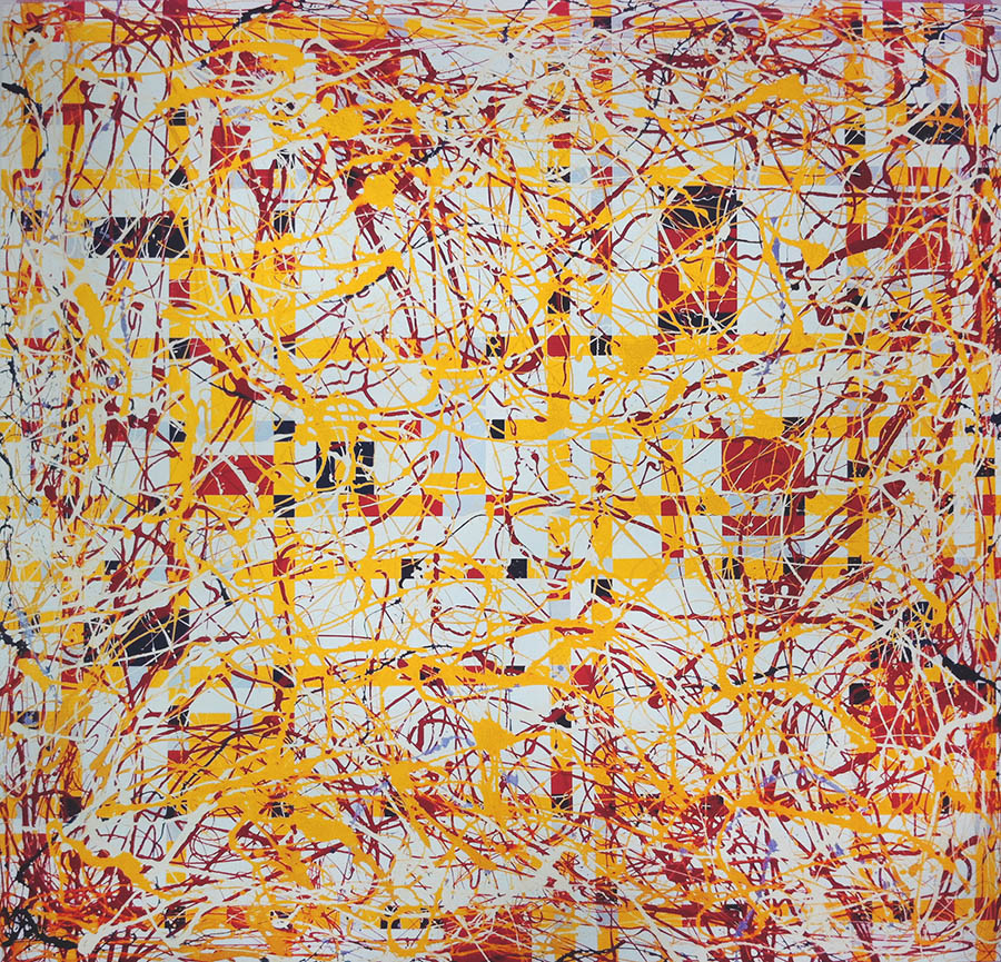 We Will Keep Our 2 Headed baby AKA Pollock and Mondrian, 112 3/4