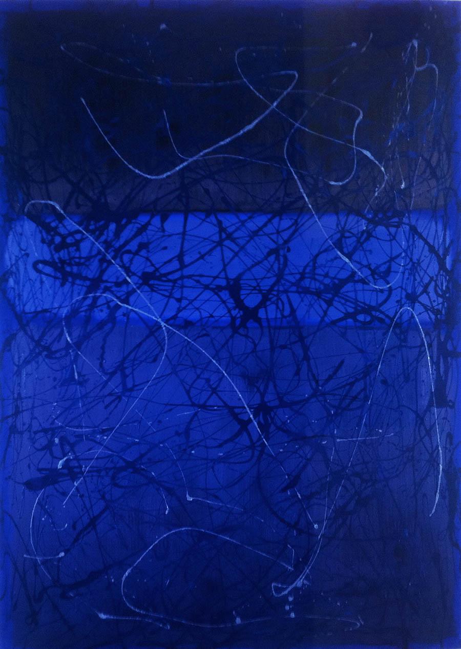 Circular Saw Cut Me in Half and I Lived AKA Pollock and Rothko,
