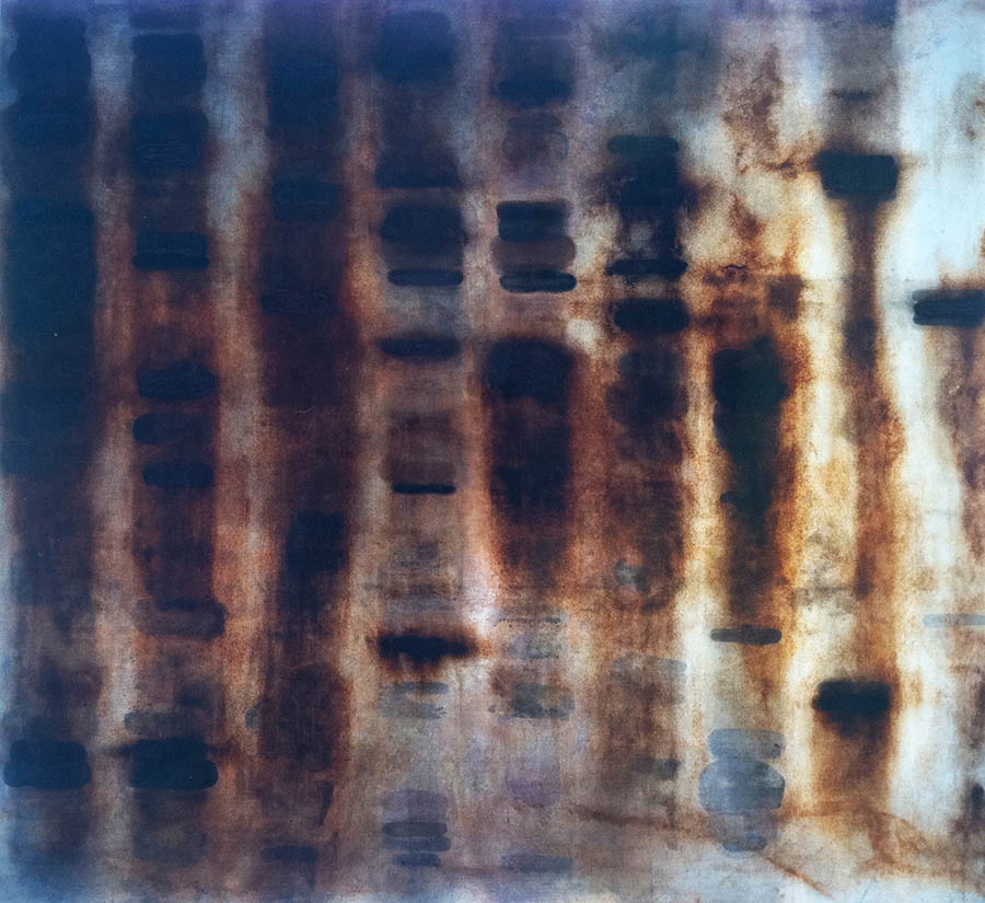 """Down On The Pharm, 114"""" x 120"""", 1992"""