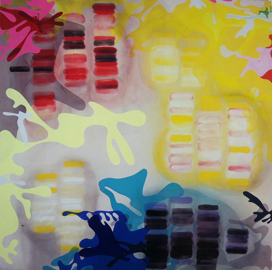 """Seadevil, 114"""" x 112"""", 2007"""