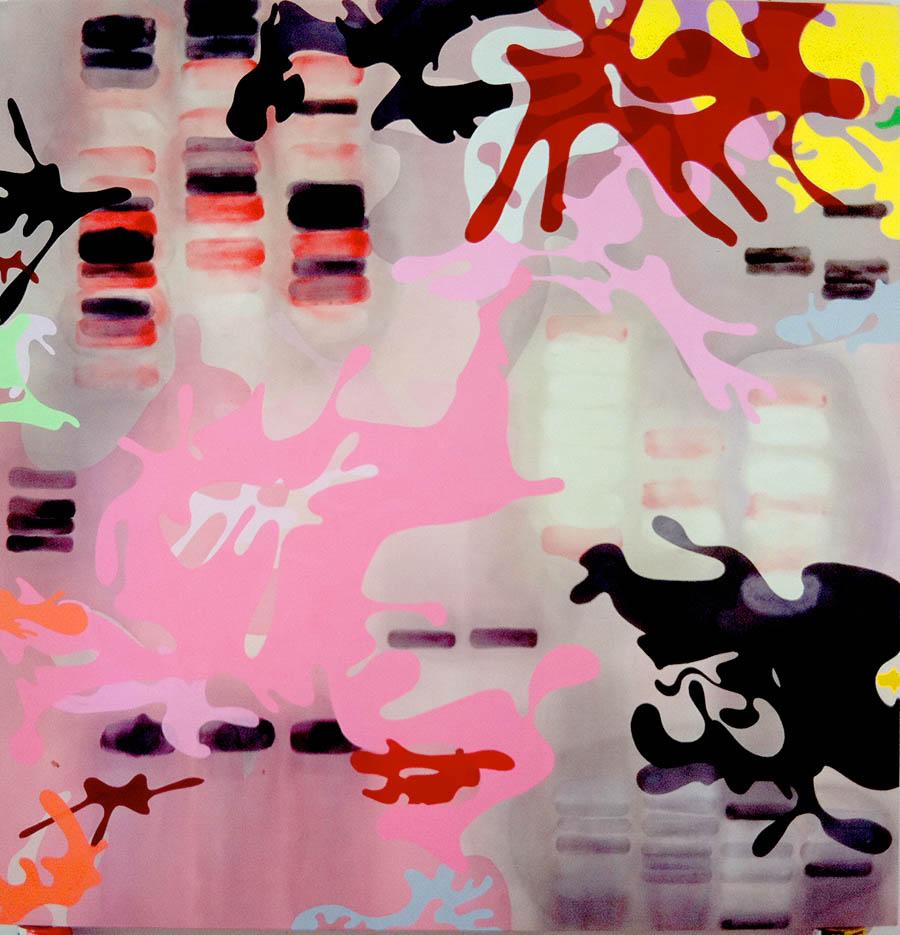 """Dumbo Octupis, 114"""" x 111 1/2"""", 2007"""