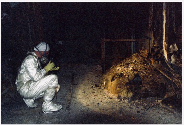 "Chernobyl ""Elephants Foot"" 1986"