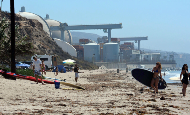 Sunny Radioactive Bliss at San Onofre Nuclear Plant San Clemente, CA