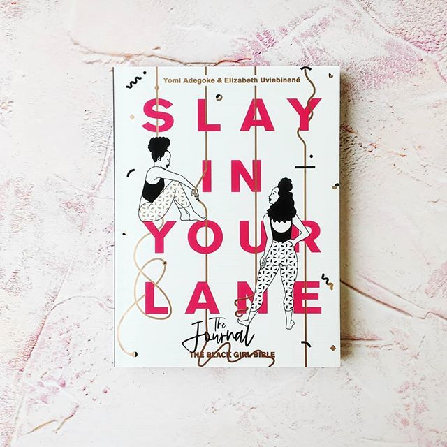 🚨SNEAK PEEK🚨 We can barely contain our excitement: SLAY IN YOUR LANE: THE JOURNAL, the essential companion to our first book, is fresh from the printers and look how beautiful it is - inside and out 😍🙏🏾💓! It's a practical toolkit, packed with exercises, worksheets, questionnaires and actionable tips and illustrated by the amazing @andsherida who designed our original cover. It's out 5th September, but you can pre-order it now from the link in our bio! #SIYL