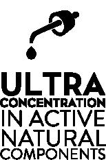 Cosmydor ultra concentration in active ingredients