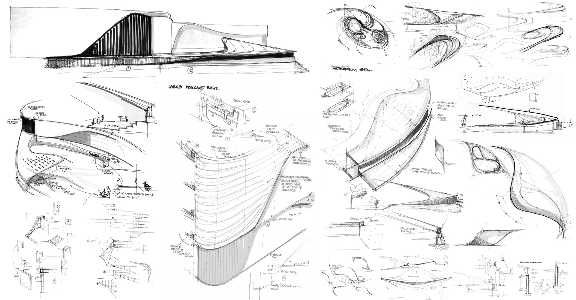 © Copyright Studio DS 2018 - Central Floresta Architecture Sketches