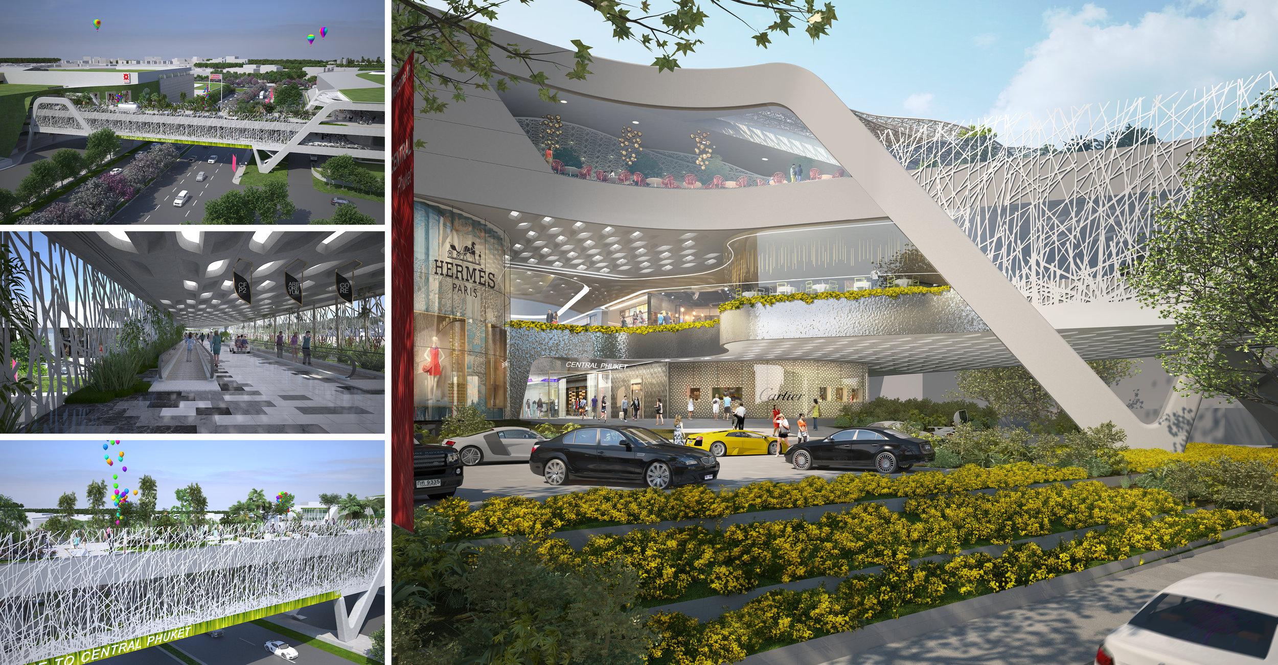 © Copyright Studio DS 2018 - Central Phuket Bridge Architecture and Interior Design