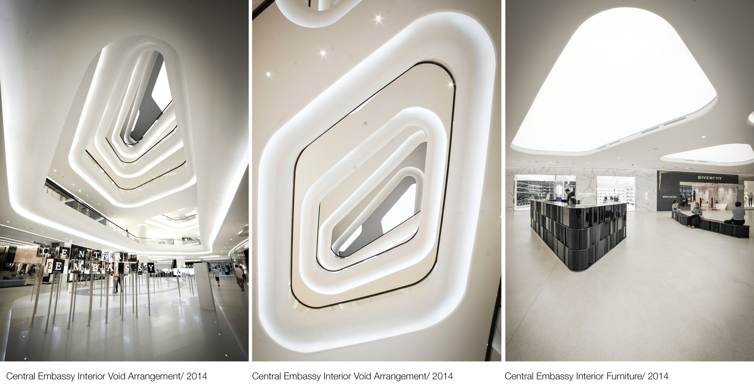 © Copyright Studio DS 2018 - Central Embassy Interior Design Voids As built
