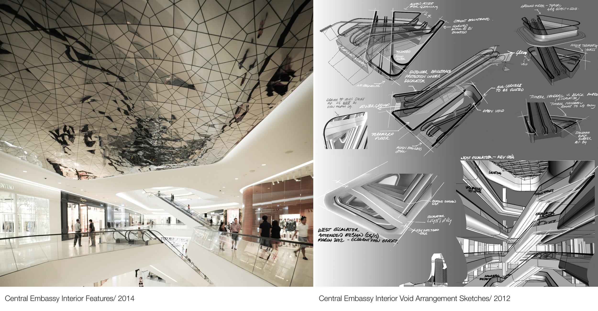 © Copyright Studio DS 2018 - Central Embassy Interior Design Sketches