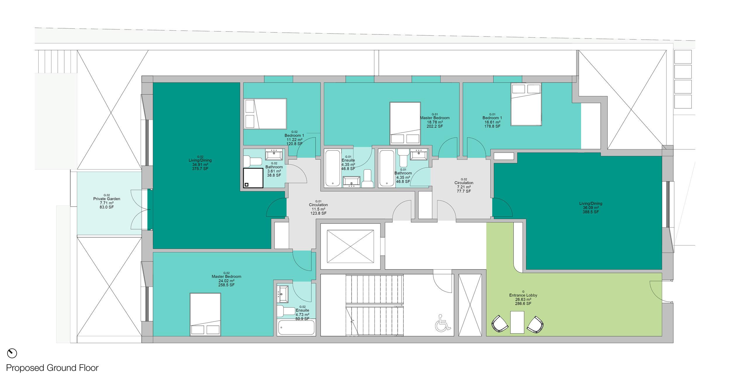 © Copyright Studio DS 2018 - the Multi Home Smart Home Ground Floor Plan