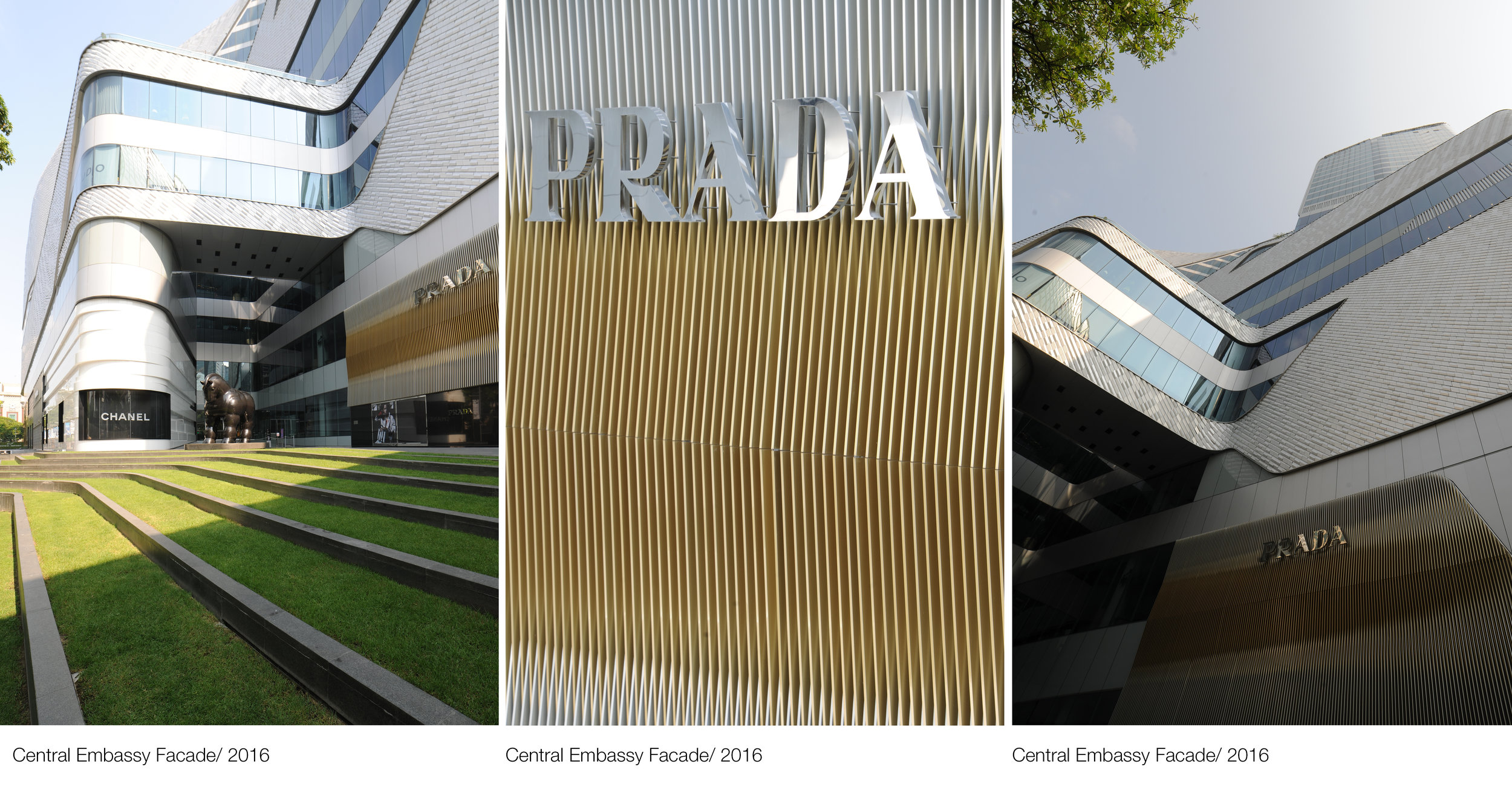 © Copyright Studio DS 2018 - Central Embassy Architecture Facade As Built 3