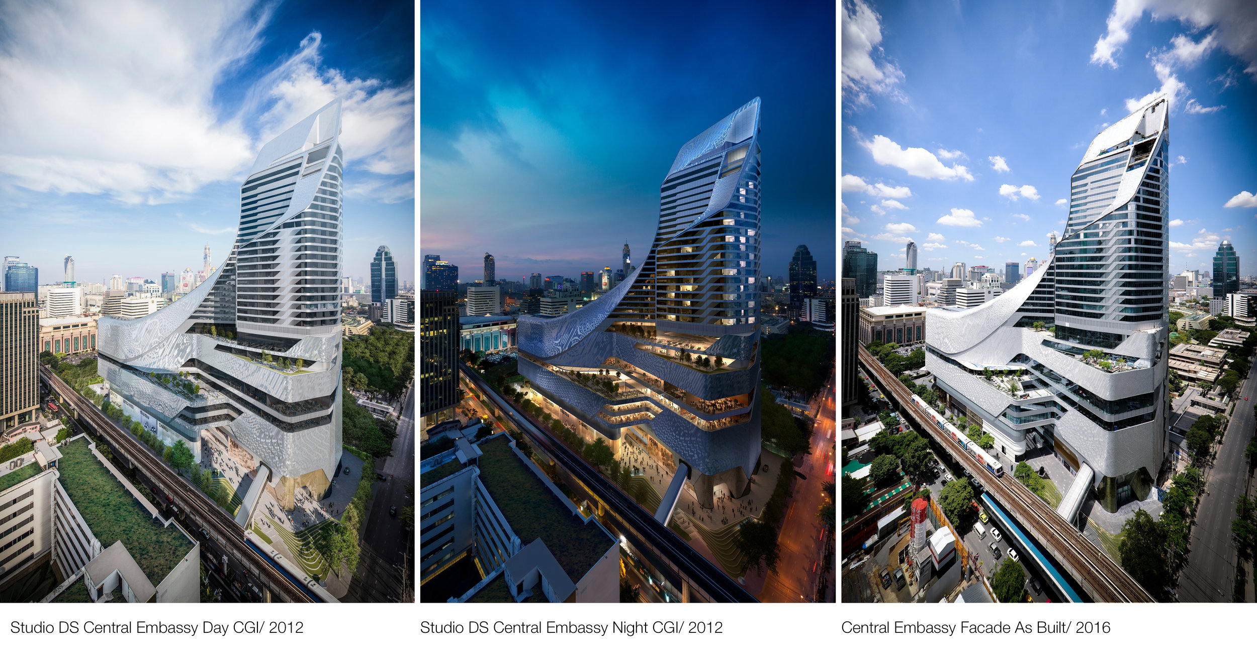 © Copyright Studio DS 2018 - Central Embassy Architecture Comparison