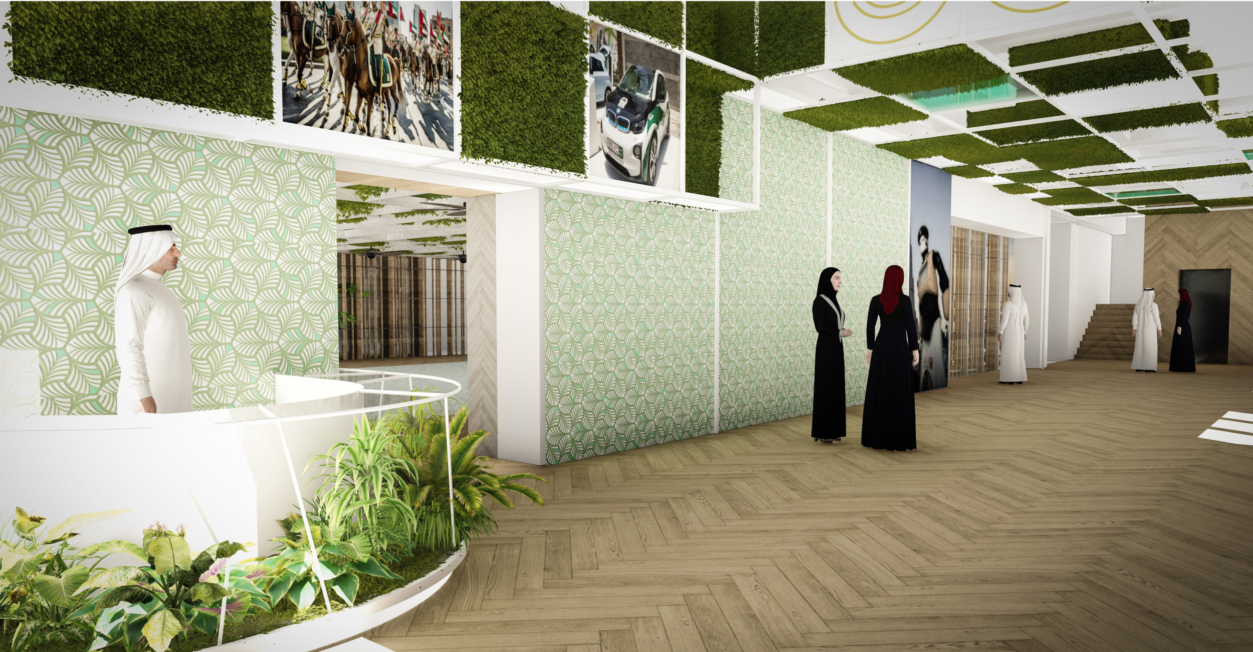 © Copyright Studio DS 2018 - the Dubai Police Innovation Hub Interior Design 1