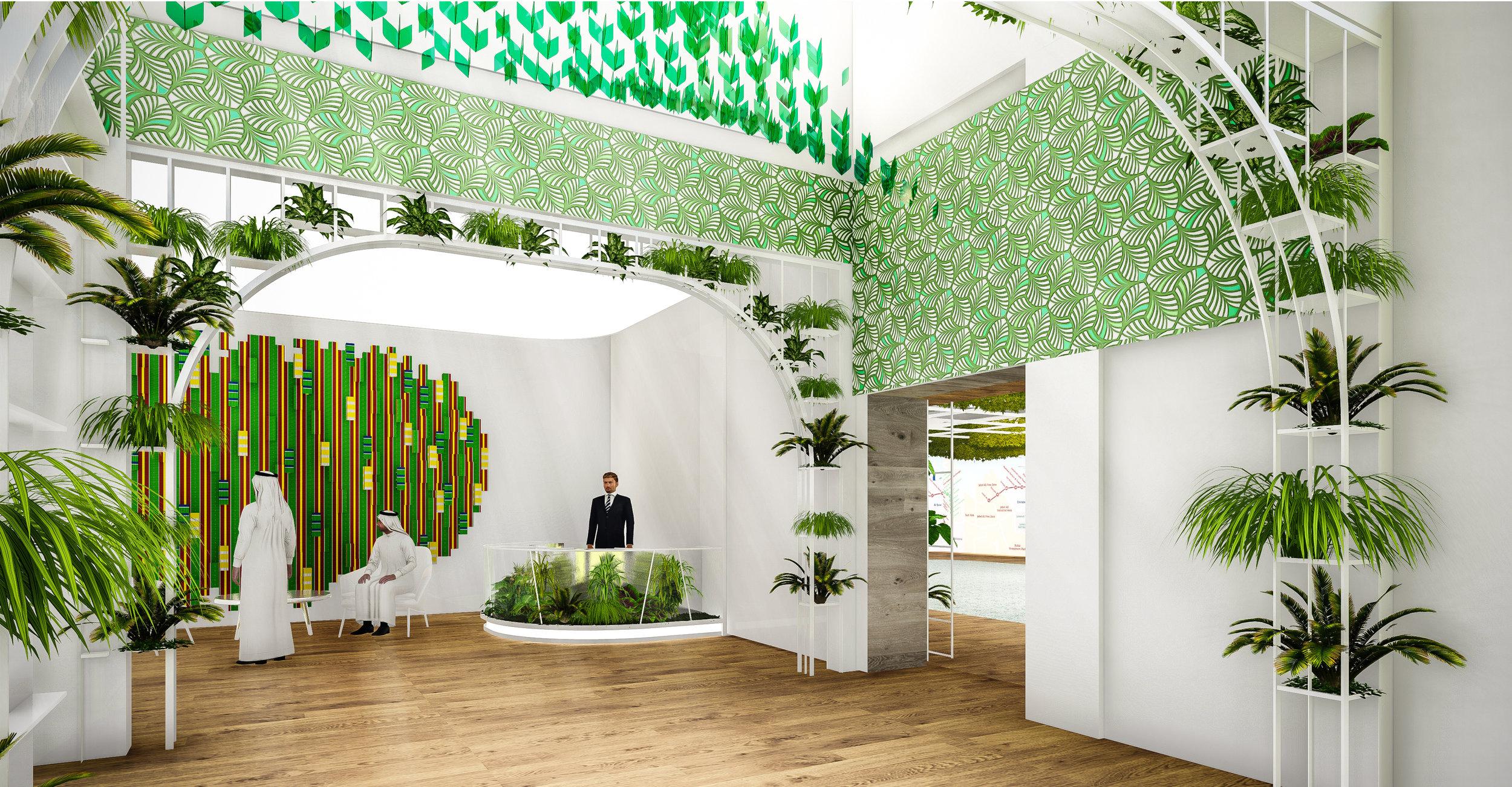 © Copyright Studio DS 2018 - the Dubai Police Innovation Hub Interior Design 2
