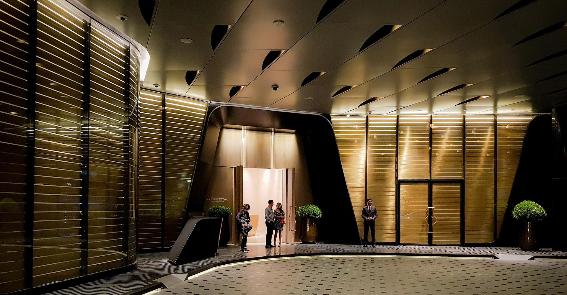 © Copyright Studio DS 2018 - Park Hyatt Bangkok Entrance As built