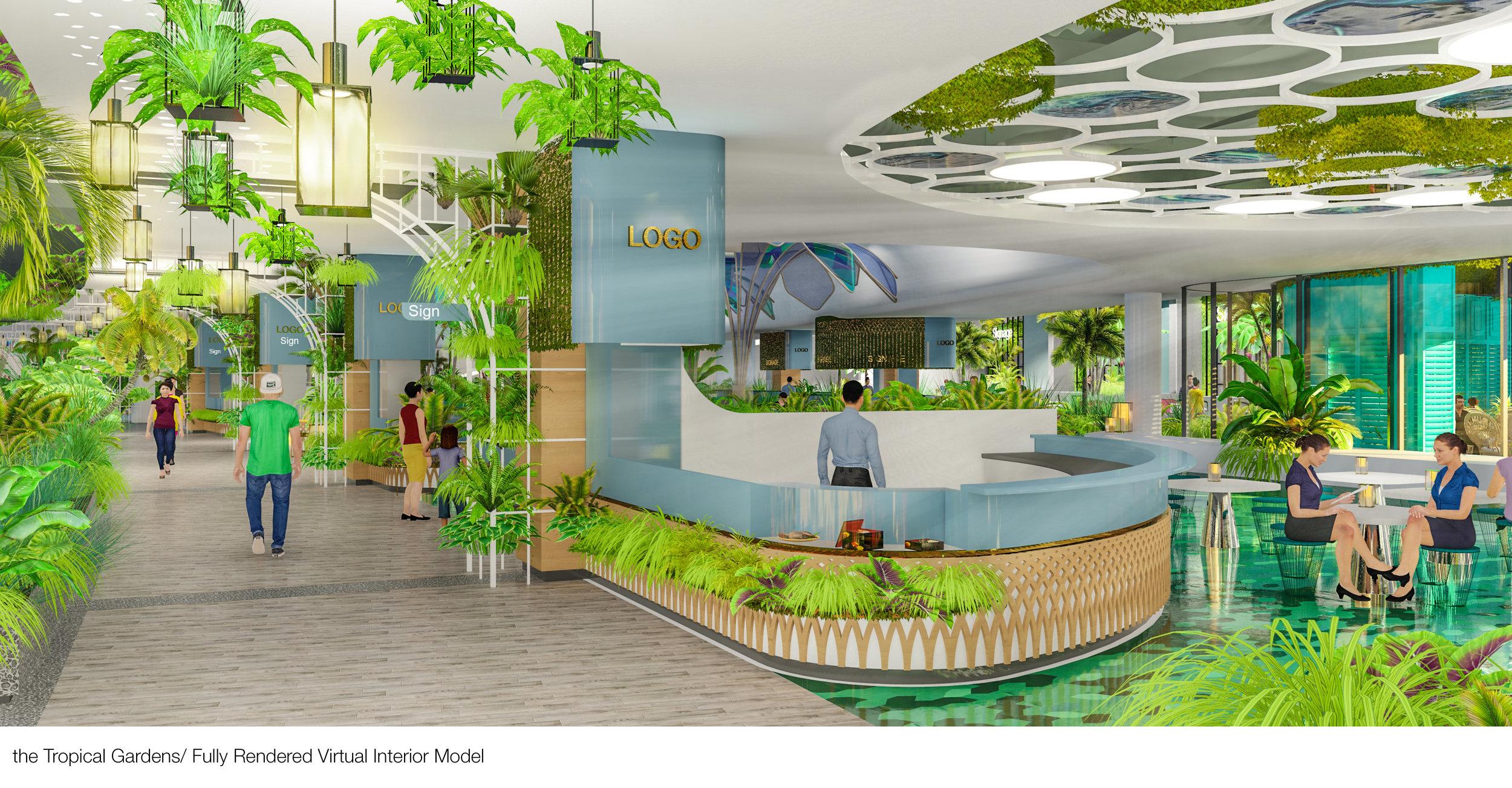 © Copyright Studio DS 2018 - the Tropical Gardens Interior Design 1
