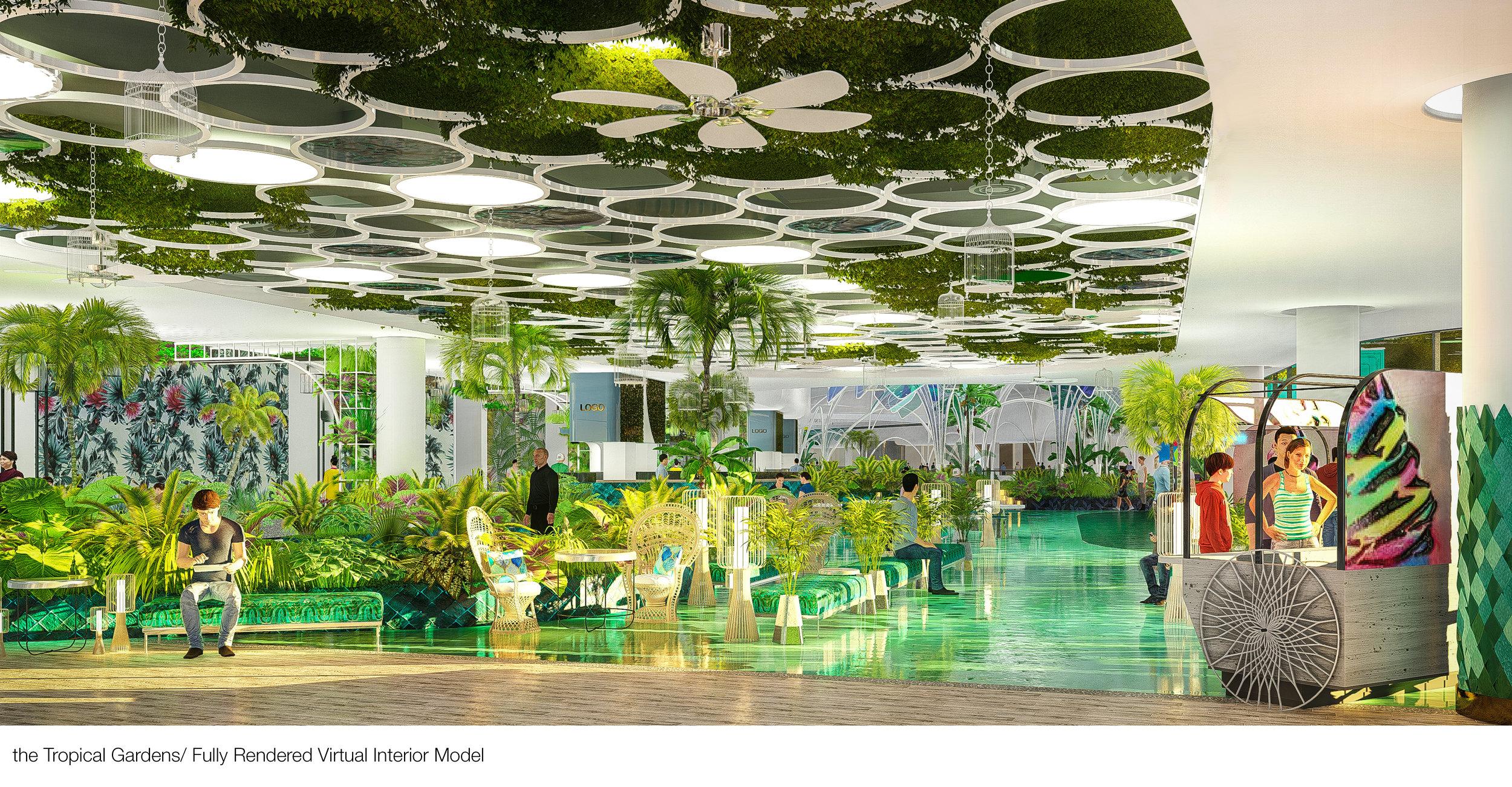 © Copyright Studio DS 2018 - the Tropical Gardens Interior Design 2