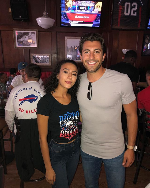 The Bachelor's Jason Tartick in the house for Bills Sundays week 1! 🏈 #letsgobills
