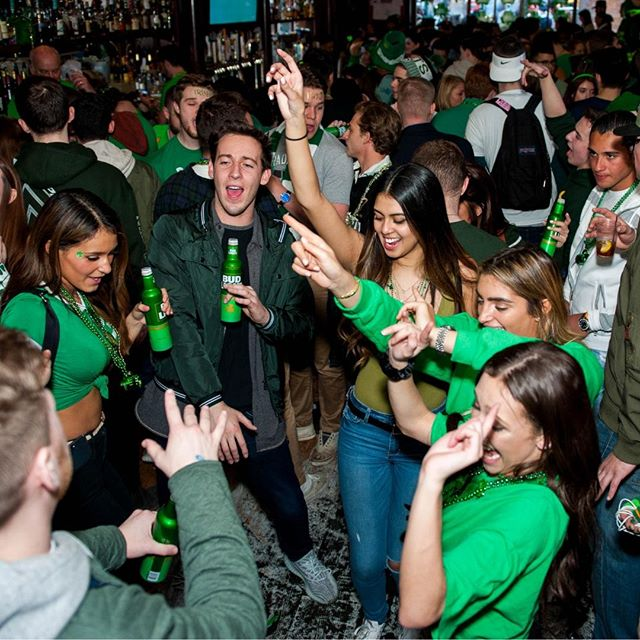 No better way to kick off your weekend... 🍀🍺🍷 #mcfaddensnyc