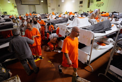 The California state prison system copes with overcrowding / Getty Images