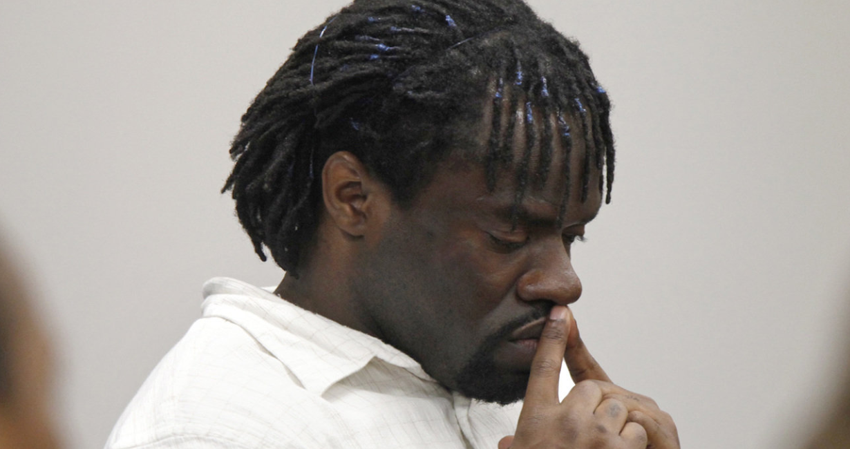 Marcus Robinson listened as Cumberland County Judge Gregory Weeks found that racial bias played a role in Robinson's trial and sentencing, in 2012.SHAWN ROCCO/THE NEWS & OBSERVER, VIA ASSOCIATED PRESS