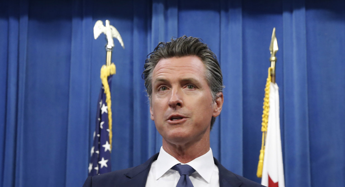 Gov. Gavin Newsom in Sacramento, Calif., in July. RICH PEDRONCELLI/ASSOCIATED PRESS