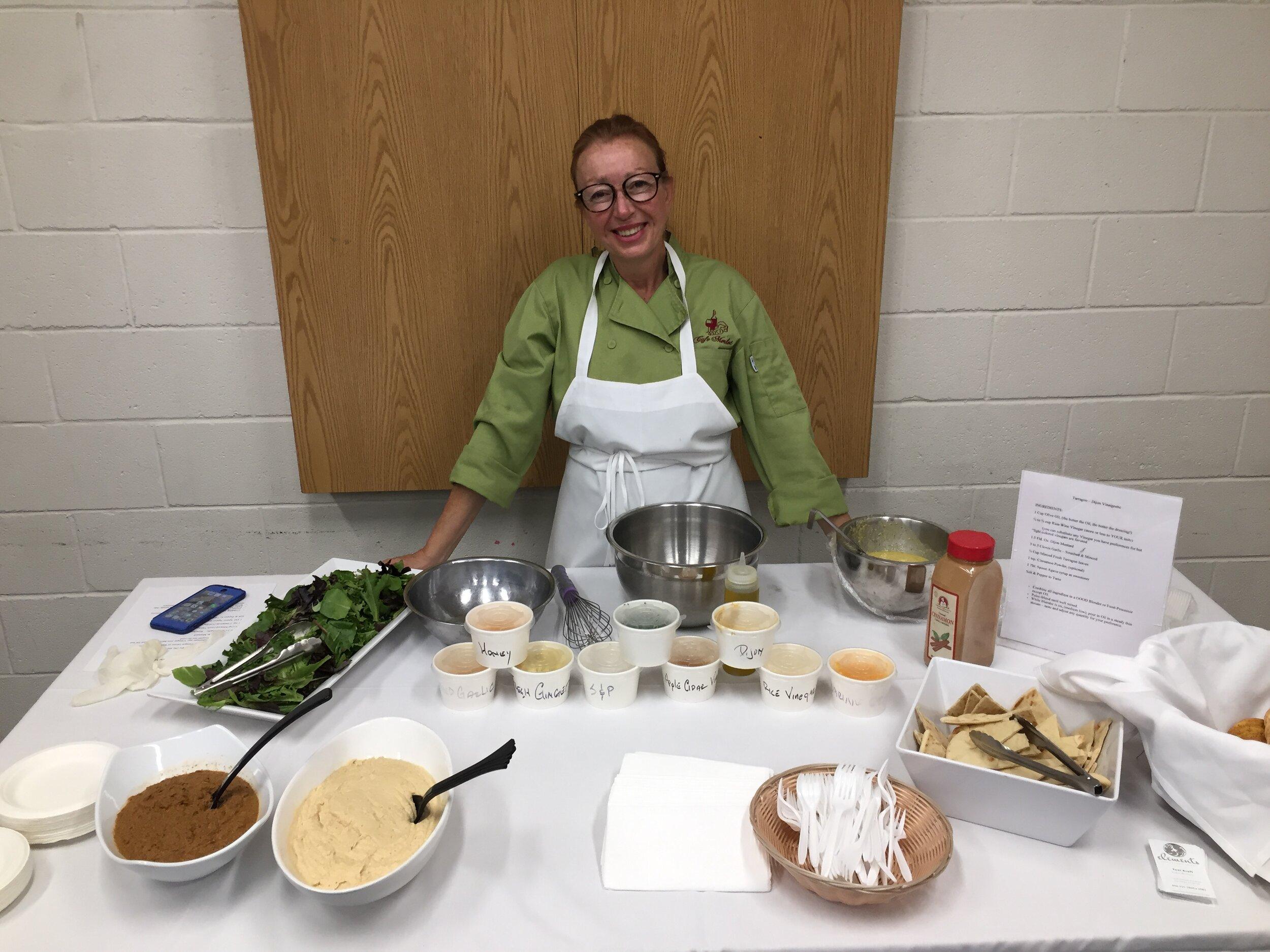 Sept 17, 2019 Cooking Class