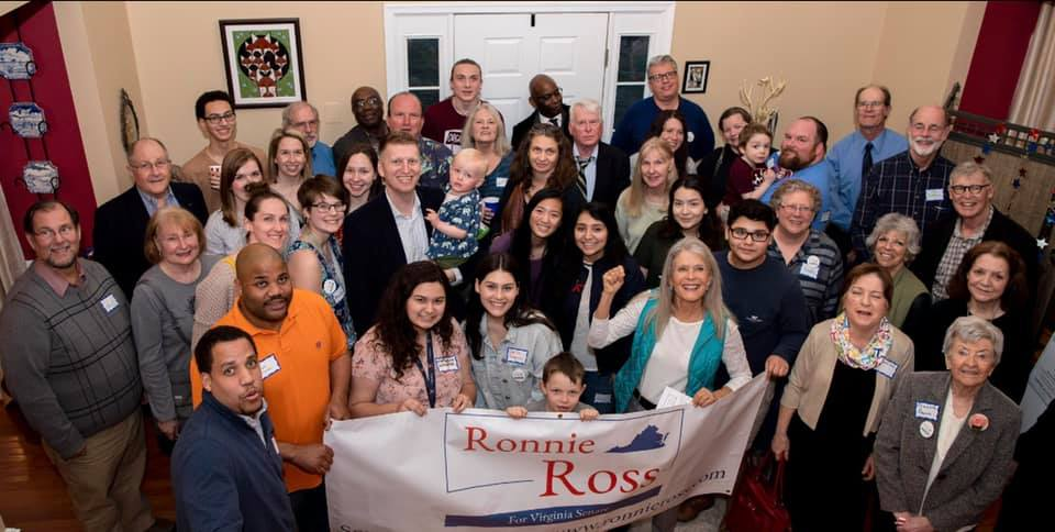 My name is Ronnie Ross, and I am running for Virginia's 27th Senate District -