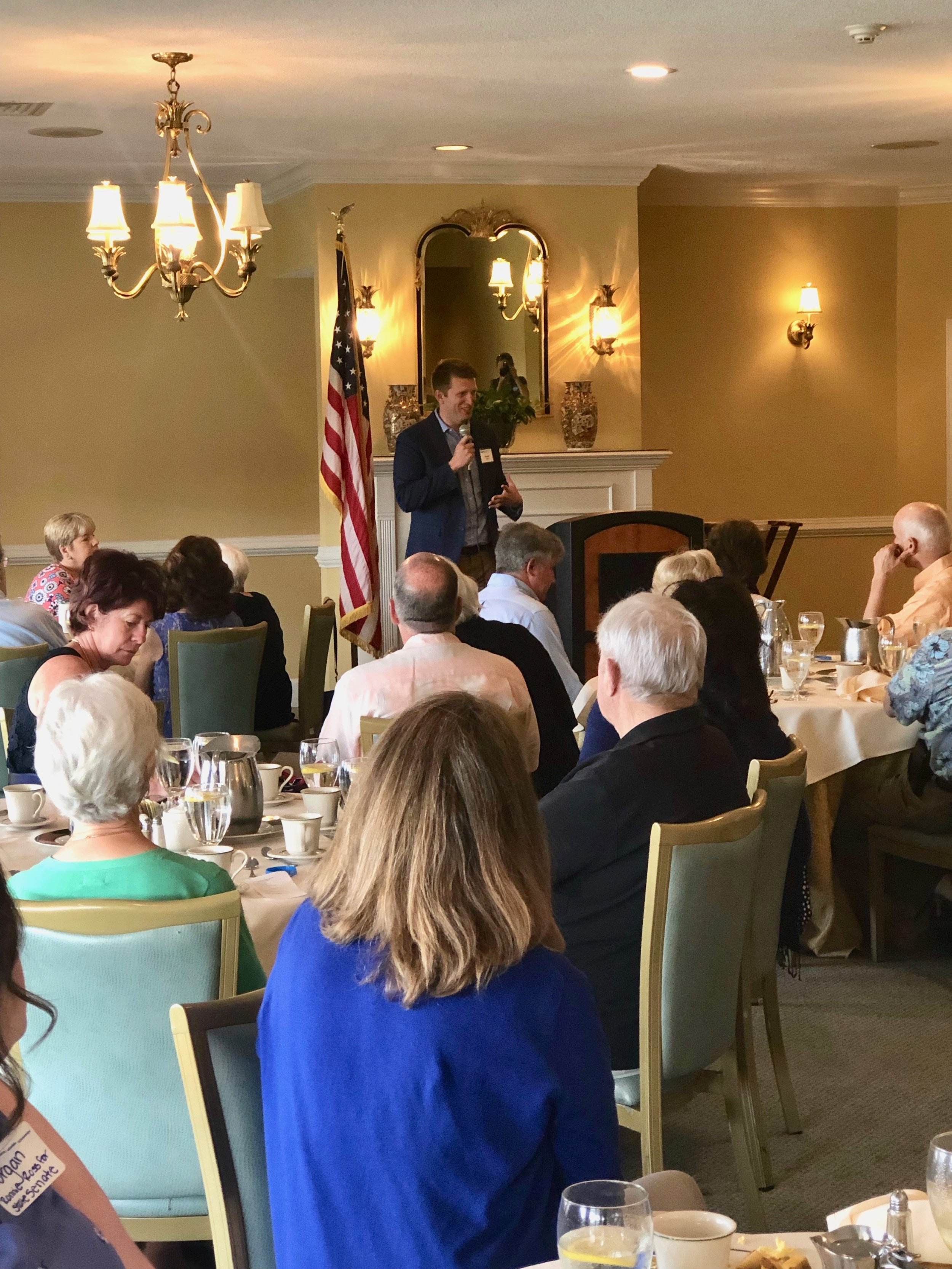 Local Democrats hear from candidates -