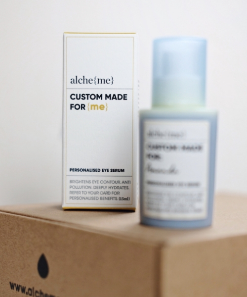 If you're looking for an all-rounder product to pamper your under eyes, this alche{me} Personalised Eye Serum is the one for you.