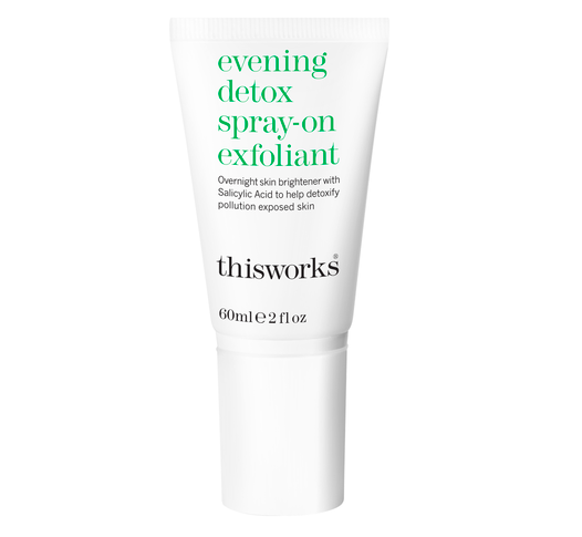 This Works   Evening Detox Spray-on Exfoliant  (S$53)