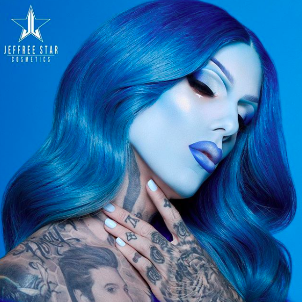 Image result for jeffree star cosmetics blue blood