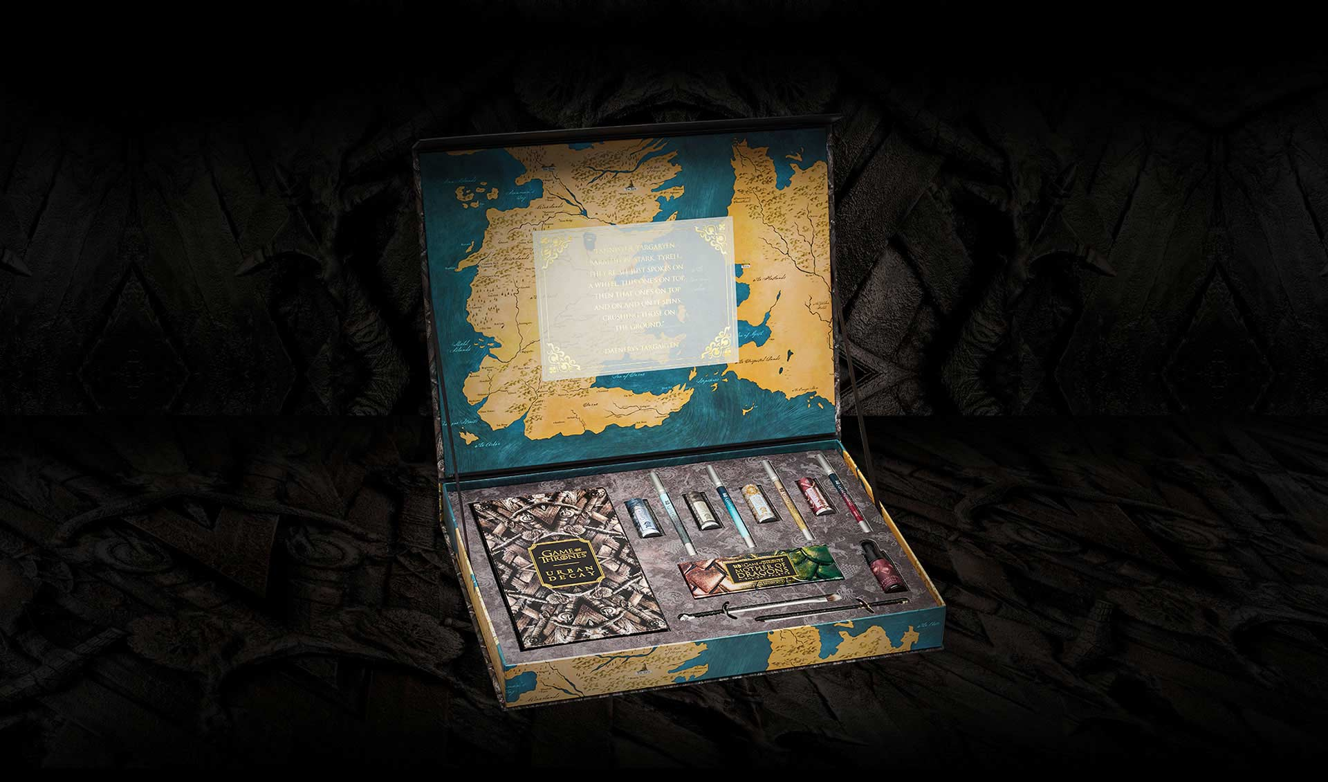 Urban Decay x Game of Thrones collection is launching May 2019 in Singapore. Image source: Urban Decay