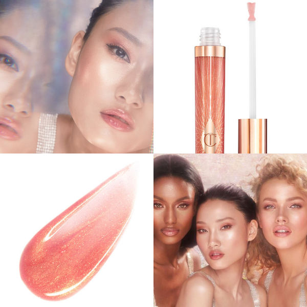 Latest Charlotte Tilbury Collagen Lip Bath shades will give you instant fuller-looking pout. Image source: Charlotte Tilbury