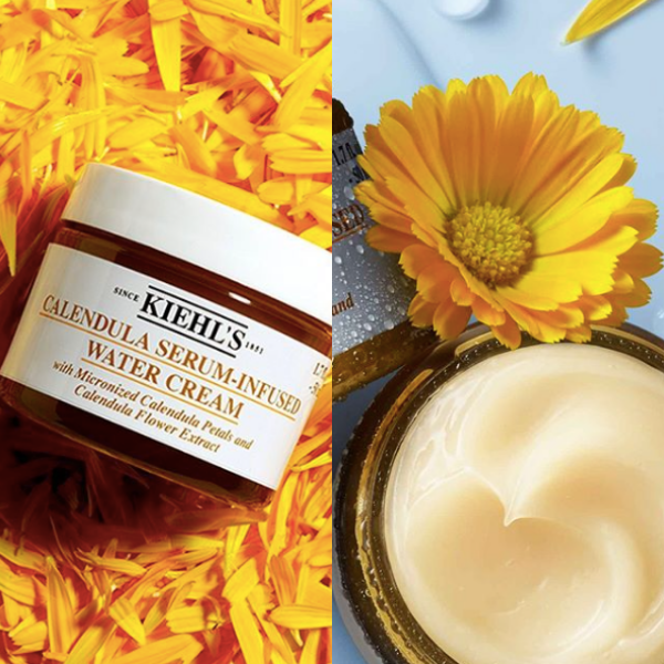 Inspired by their beloved Calendula Herbal-Extract Toner, here's your chance to try new Kiehls Calendula Serum-Infused Water Cream. Image source:  @Kiehls