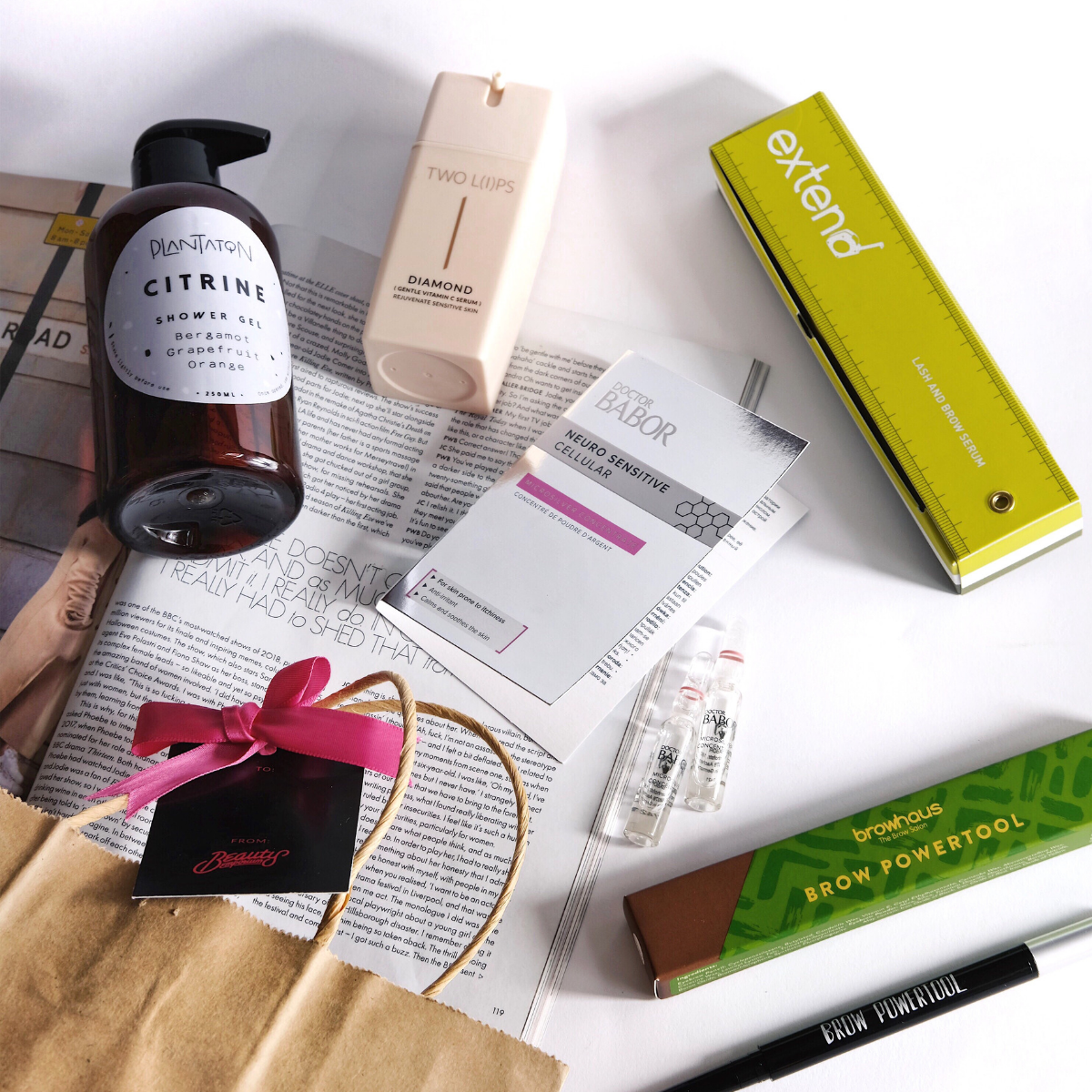 Featuring all of Beauty Emporium bestsellers in our giveaway. Image source:  @Layersofskins