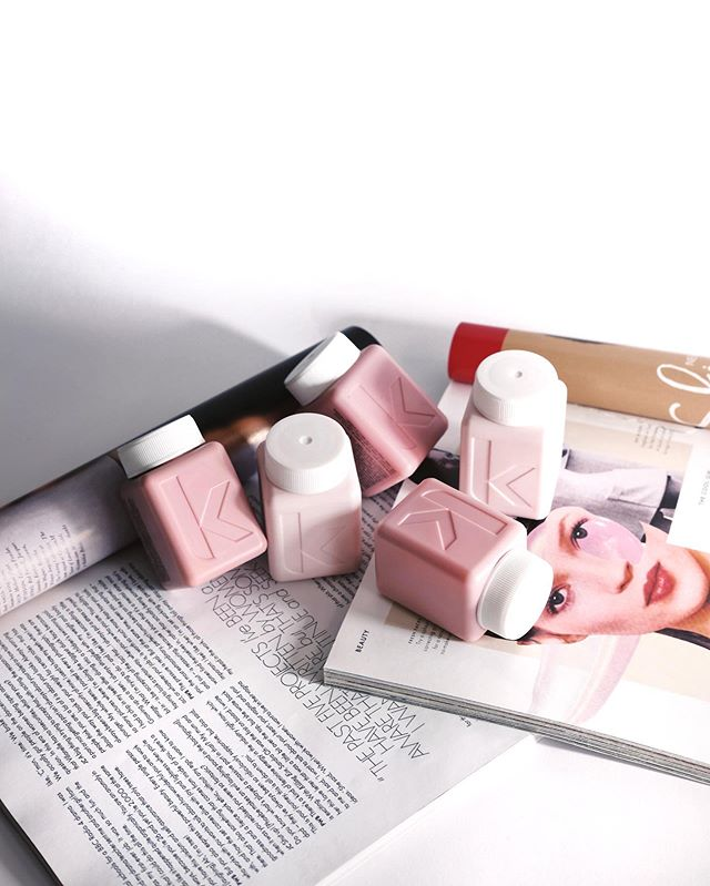 These baby Kevin Murphy hair products 💖 We love travel-friendly products, what about you! 👋 —— @kevinmurphyhair