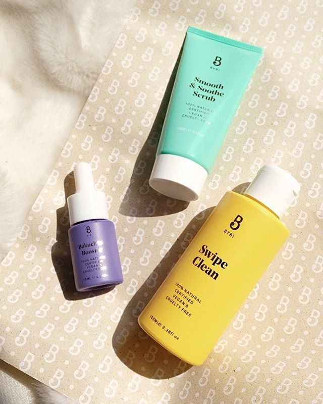 Another #cleanbeauty brand 👋 Hope we aren't too late to join in the @bybibeauty addiction! Can't wait to try these, especially the Bakuchiol Booster! We heard Bakuchiol is the new natural alternative for retinol, thoughts? 💭