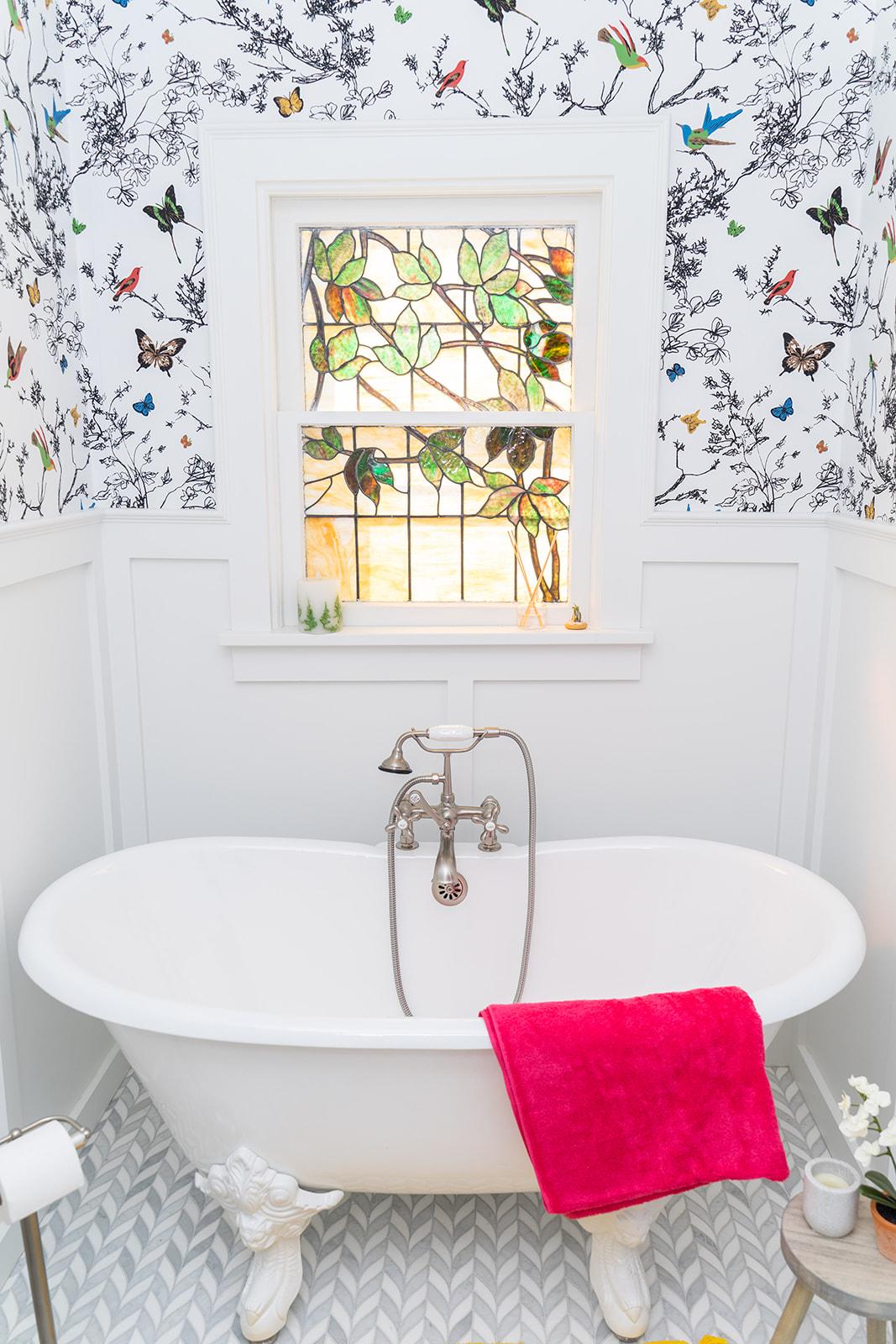 Milford - master bath