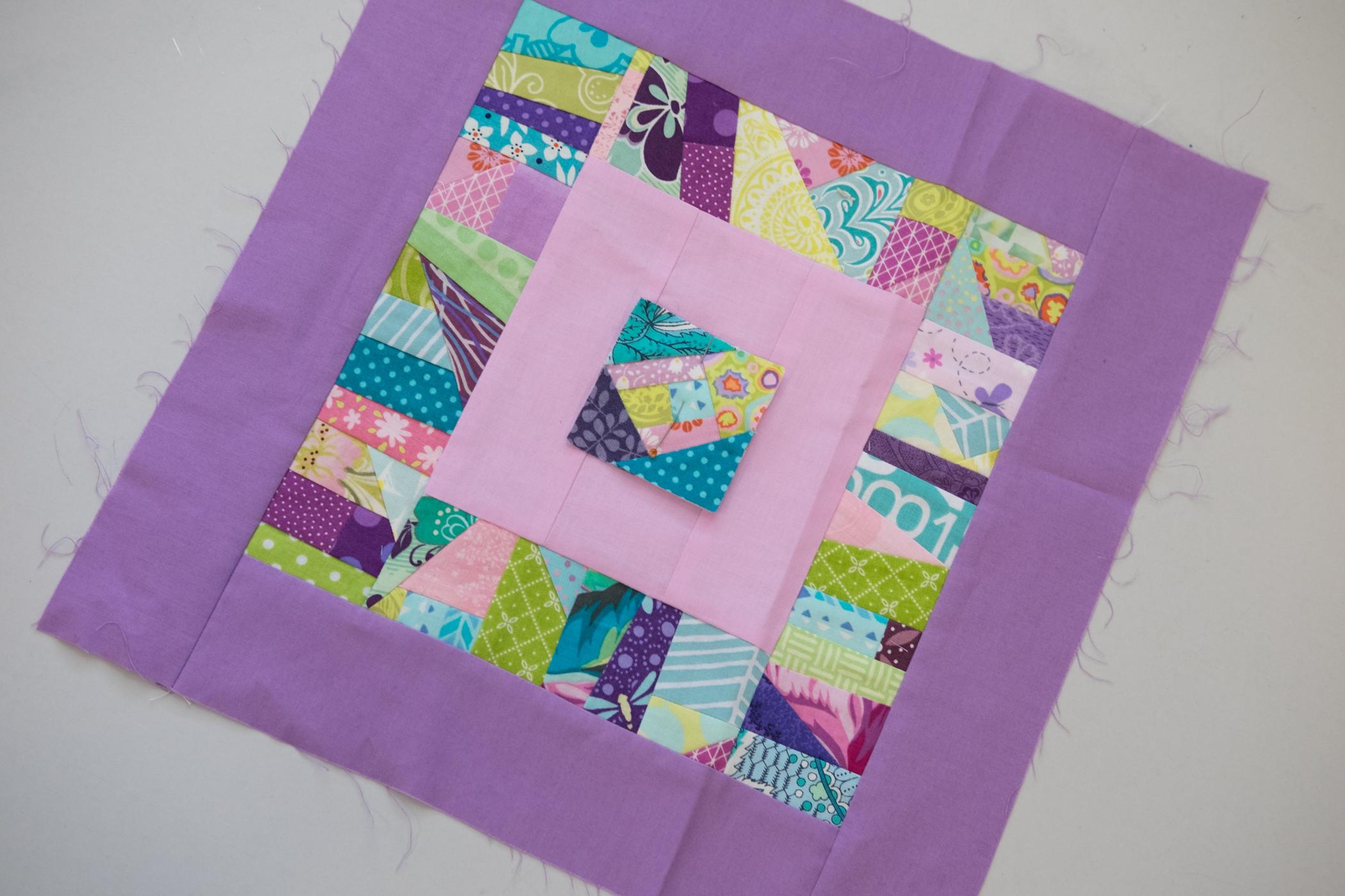 Tina's sample block!